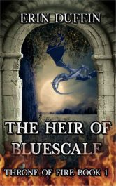 bargain ebooks The Heir of Bluescale Dark Fantasy by Erin Duffin