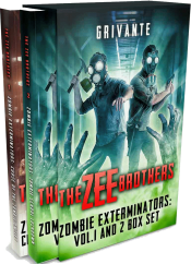 bargain ebooks The Zee Brothers: Zombie Exterminators Box Set Action/Adventure Horror by Grivante