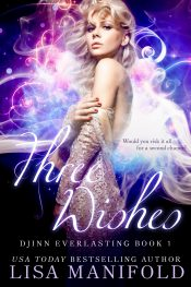 bargain ebooks Three Wishes Romantic Fantasy by Lisa Manifold