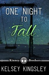 bargain ebooks One Night to Fall Contemporary Romance by Kelsey Kingsley