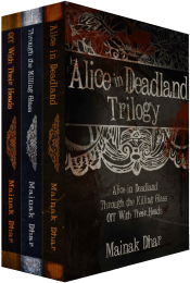 bargain ebooks Alice in Deadland Trilogy Horror by Mainak Dhar
