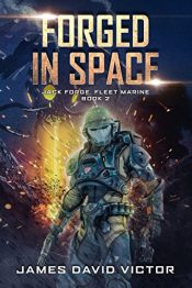 bargain ebooks Forged In Space Military Science Fiction by James David Victor