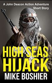 bargain ebooks High Seas Hijack Action Thriller by Mike Boshier