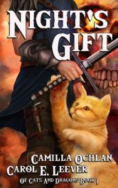 bargain ebooks Night's Gift Young Adult/Teen Fantasy by Carol E. Leever & Camilla Ochlan