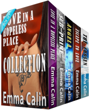 bargain ebooks The Love in a Hopeless Place Collection Romance by Emma Calin