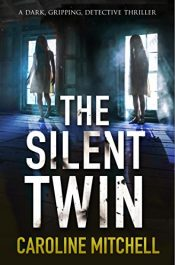 bargain ebooks The Silent Twin Mystery Thriller by Caroline Mitchell