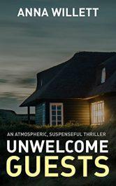 bargain ebooks UNWELCOME GUESTS Thriller by Anna Willett