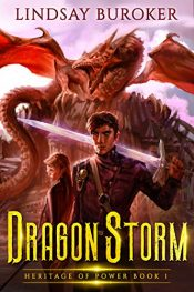 bargain ebooks Dragon Storm Science Fiction Fantasy by Lindsay Buroker