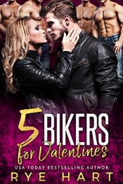 bargain ebooks 5 Bikers for Valentine's Romance by Rye Hart