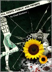bargain ebooks All Debts Public and Private Mystery by Chad Sanborn