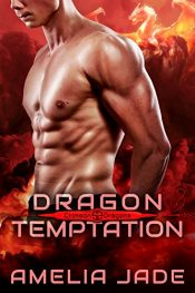 bargain ebooks Dragon Temptation Paranormal Romance by Amelia Jade