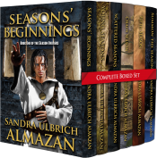 bargain ebooks Season Avatars Complete Box Set Historic Fantasy by Sandra Ulbrich Almazan
