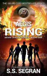 bargain ebooks Aegis Rising Action Mystery/Thriller by S.S. Segran