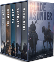 bargain ebooks Blade Asunder Complete Series Box Set Historical Fantasy by Jon Kiln