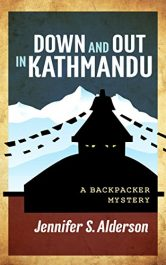 bargain ebooks Down and Out in Kathmandu Adventure Mystery by Jennifer S. Alderson