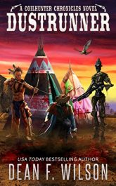bargain ebooks Dustrunner Steampunk Science Fiction by Dean F. Wilson