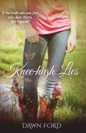 amazon bargain ebooks Knee-high Lies YA/Teen Contemporary Romance by Dawn Ford
