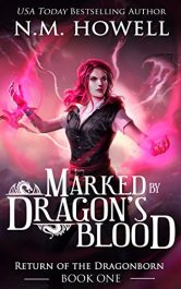 bargain ebooks Marked by Dragon's Blood YA Historical Fantasy by N.M. Howell