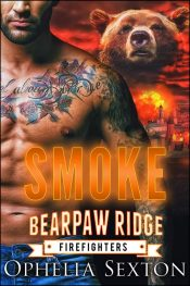 bargain ebooks Smoke (Bearpaw Ridge Firefighters Book 7) Paranormal Romance by Ophelia Sexton