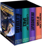 bargain ebooks Starship Blackbeard: The Complete Series Science Fiction by Michael Wallace