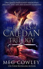 bargain ebooks The Books of Caledan Trilogy Fantasy by Meg Cowley