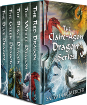 bargain ebooks The Claire-Agon Dragon Series: Books 1-5 Young Adult/Teen Fantasy by Salvador Mercer