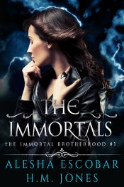 bargain ebooks The Immortals (The Immortal Brotherhood #1) Urban Fantasy by Alesha Escobar, H.M. Jones