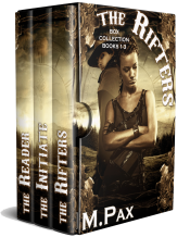 bargain ebooks The Rifters Box Collection Books 1-3 Fantasy by M. Pax
