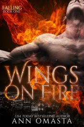 bargain ebooks Wings on Fire (Falling, Book 1) Paranormal Romance by Ann Omasta