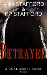bargain ebooks Betrayed Mystery by KP Stafford & Ann Stafford