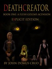 bargain ebooks Deathcreator Book One Erotic Romance by John Domus Cruo