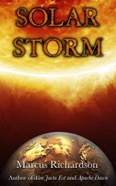 amazon bargain ebooks Solar Storm Scifi Adventure by Marcus Richardson