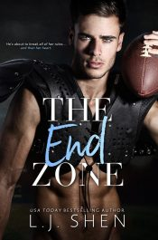 bargain ebooks The End Zone New Adult Romance by Leigh Shen
