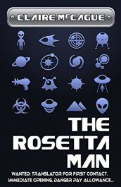 amazon bargain ebooks The Rosetta Man Science Fiction by Claire McCaugue