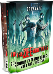 bargain ebooks The Zee Brothers: Zombie Exterminators Box Set SciFi Action/Adventure by Grivante