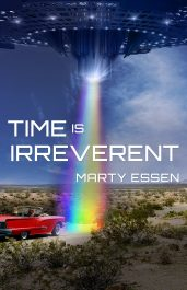 bargain ebooks Time Is Irreverent Humorous Science Fiction by Marty Essen