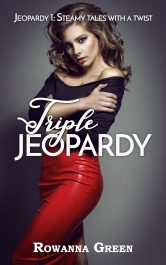 bargain ebooks Triple Jeopardy Steamy suspense by Rowanna Green