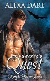 bargain ebooks Vampire's Quest Paranormal Romance by Alexa Dare