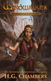 bargain ebooks Windwalker: Forbidden Flight YA Fantasy Adventure by H.G. Chambers