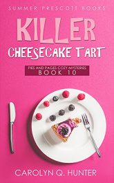bargain ebooks Killer Cheesecake Tart Cozy Mystery by Carolyn Q Hunter
