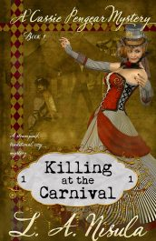 amazon bargain ebooks  Killing at the Carnival Mystery by L. A. Nisula