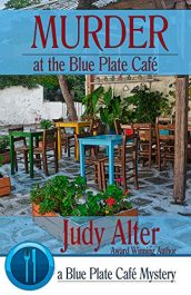 amazon bargain ebooks Murder at the Blue Plate Café Cozy Mystery by Judy Alter