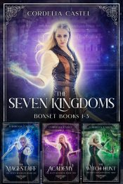 bargain ebooks The Seven Kingdoms - Books 1-3  YA/Teen Fantasy by Cordelia Castel