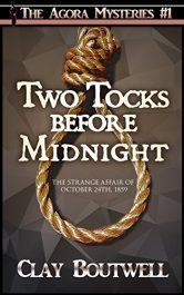 bargain ebooks Two Tocks Before Midnight Historical Mystery by Clay Boutwell