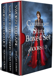 bargain ebooks Courtlight Series Boxed Set: Books 1-3 Young Adult/Teen Fantasy by Terah Edun