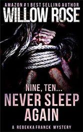 bargain ebooks Nine, Ten... Never Sleep Again Mystery/Thriller by Willow Rose