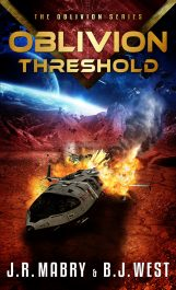 bargain ebooks Oblivion Threshold Military Science Fiction by J.R. Mabry & B.J. West