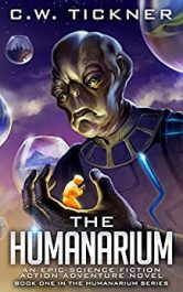 bargain ebooks The Humanarium Science Fiction by C.W. Tickner