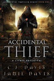 amazon bargain ebooks Accidental Thief Cyberpunk Science Fiction by Jamie Davis