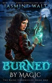 amazon bargain ebooks Burned By Magic Action Adventure Fantasy by Jasmine Walt